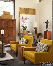 yellow chairs living room 18 cozy sitting in gray with an accent