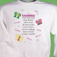 81 best personalized grandma t shirts images on pinterest