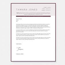plum resume cover letter u0026 references template package u2013 janna