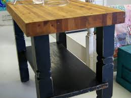 powell color story black butcher block kitchen island powell kitchen island home design ideas and pictures