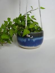 White Hanging Planter by Spotted White Handmade Ceramic Hanging Planter Hanging Vase