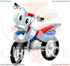 motocross safety gear clipart of a boy riding a dirt bike in safety gear royalty free
