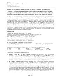 Wireless Project Manager Resume Accounts Receivable Resume Objective Free Resumes Tips