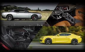 whats better a camaro or challenger poll dodge challenger srt 392 or chevrolet camaro ss autoguide