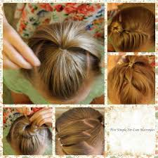five simple hairstyles for short hair youtube