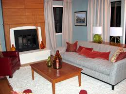 Orange Livingroom Color Trends Decorating With Orange Diy