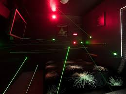 laser maze u0026 laser tag in a bedroom at the great escape lakeside