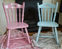 Shabby Chic Blue Paint by Diy Upcycled Chairs Shabby Chic Inspired Fawns U0026 Fables