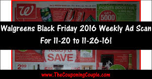 black friday 2016 ad scans walgreens black friday 2016 weekly ad scan browse all 20 pages
