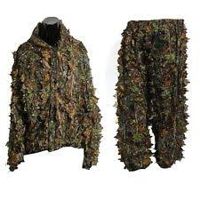 Ghillie Suit Halloween Costume Ghillie Suits Ebay