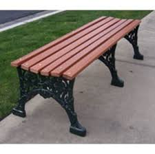 metal frame bench street benches commercial victorian street benches