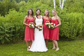 summer wedding bridesmaid dresses rustic wedding chic