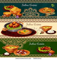 cuisine spicy indian cuisine spicy lunch dishes เวกเตอร สต อก 788853841