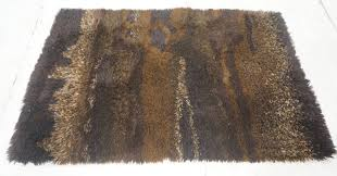 desso brown shag carpet rug shade brown