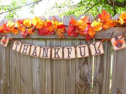 thanksgiving banner turkey banner thankful fall mantle decor