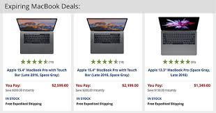 apple year end macbook deals expire midnight december 31