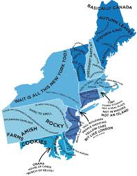 North America Map With States by The Stereotype Map Of Every U S State U2014 According To British