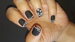 black matte nails nail designs step by step classy nail art