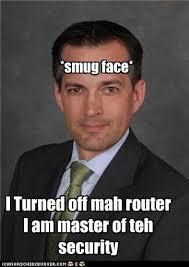 Aaron Barr smug face