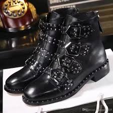 cheap motorbike boots 2017 winter autumn women u0027s luxury brand fashion rivet ankle boots