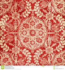 Red Damask Wallpaper Home Decor Victorian Wallpaper Textures Royalty Free Stock Images Image