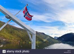 norwegian flag on ship stock photos u0026 norwegian flag on ship stock