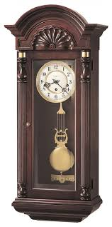 Kieninger Grandfather Clock Clockway Howard Miller Triple Chiming Keywound Wall Clock Chm1358