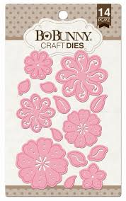 petals dies by bo bunny for scrapbooks cards crafting
