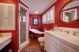 Red Bathroom Cabinets Red Bathroom Officialkod Com