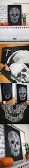 Halloween Decorations Arts And Crafts Best 25 Skull Crafts Ideas Only On Pinterest Diy Halloween