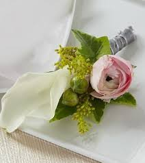 Wedding Boutonniere Peachtree Petals Wedding Boutonniere