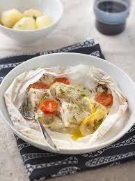 cuisiner du colin surgelé filet de colin en papillote recette poissons recette filet de
