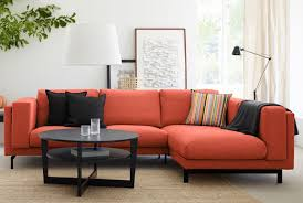 Orange Ikea Sofa by Corner Sofas Fabric Sofas Ikea