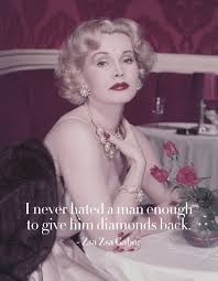 Za Za Gabor 10 Life Lessons From The Og Queen Of Glamour Zsa Zsa Gabor