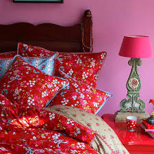 Pink Rose Duvet Cover Set Red Chinese Rose Duvet Set By Pip Studio Pip Studio Duvet Sets