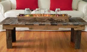 pallet wood coffee table made order geckoshyde