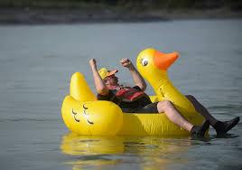 kenai lions club hosts annual rubber duck race peninsula clarion