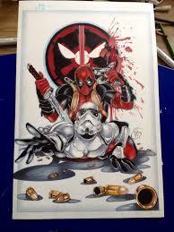 deadpool stormtrooper tattoo by animaddict on deviantart