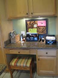 kitchen cabinet desk ideas cabinet kitchen desk organizer simple kitchen desk design