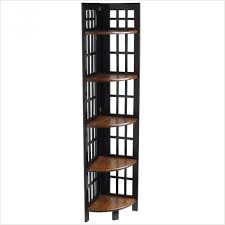 corner shelf target australia fretted rubbed black tall corner
