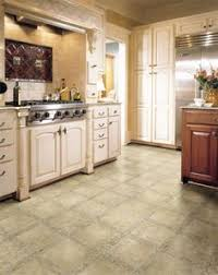 Kitchen Vinyl Flooring by Laminate Floor That Imitates Appearance Of Saltillo Tile