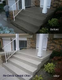 25 best ideas about concrete front steps on pinterest unique