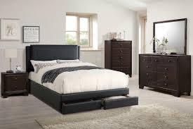 Full Size Platform Bedroom Sets Poundex Associates Item F9334f Full Size Platform Bed Frame