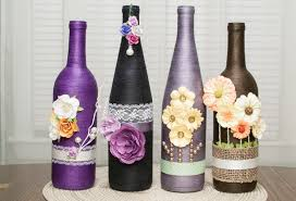 100 home decor with wine bottles frosted glass diy lighted