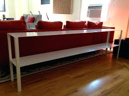 sofa console table height decor ideas long design making target