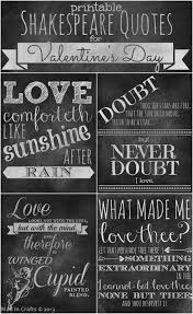 chalkboard wedding sayings printable chalkboard shakespeare quotes for s day mad