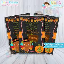 thanksgiving invitations thanksgiving invitations invitation boy girl baby birthday party