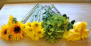 go flowers olympic flowers yellow wedding flowers florist work