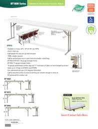 18 x 72 folding table plastic grey blow molded seminar folding table 18 x 72 with