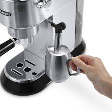 de u0027longhi dedica pump espresso u0026 cappuccino machine bed bath